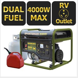 Sportsman 4000kw dual fuel generator BRAND NEW