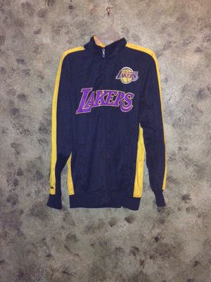 Zip up Lakers warm up jacket