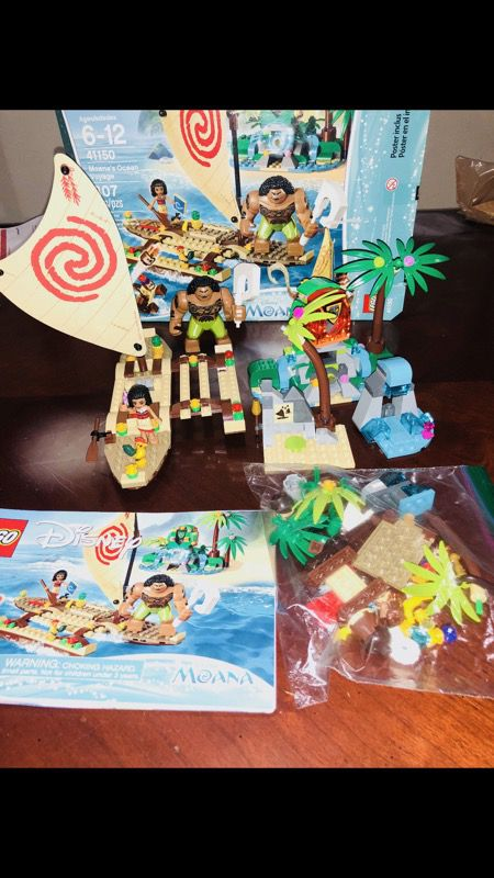Moana Lego Set (Games & Toys) in Union City, CA