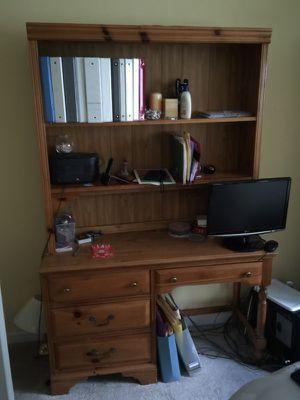 Hutch and desk