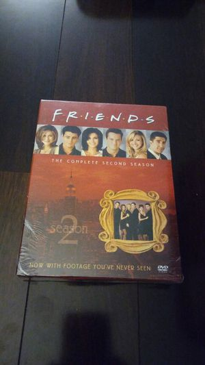 Friends Complete second season dvd NEW