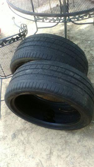 """Perilli 265/35 20"""" used tires"""