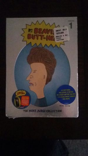 beavis and butthead the mike judge collection volume 1 brand new never opened
