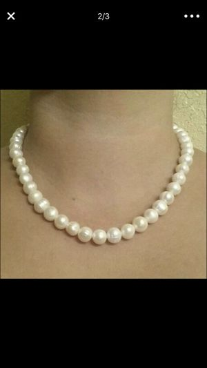 Real pearls necklace