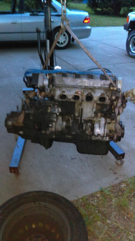 Engine 150xxx 1.6 vtec 92 to 95 honda civic
