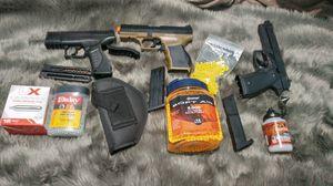 Airsoft gun and bb guns