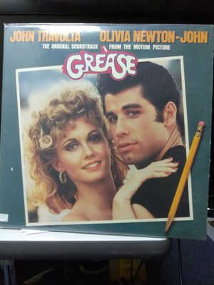 soundtrack grease, vinyl
