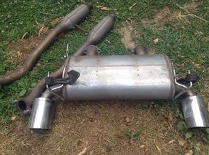 I selling the original muffler from 370z nismo