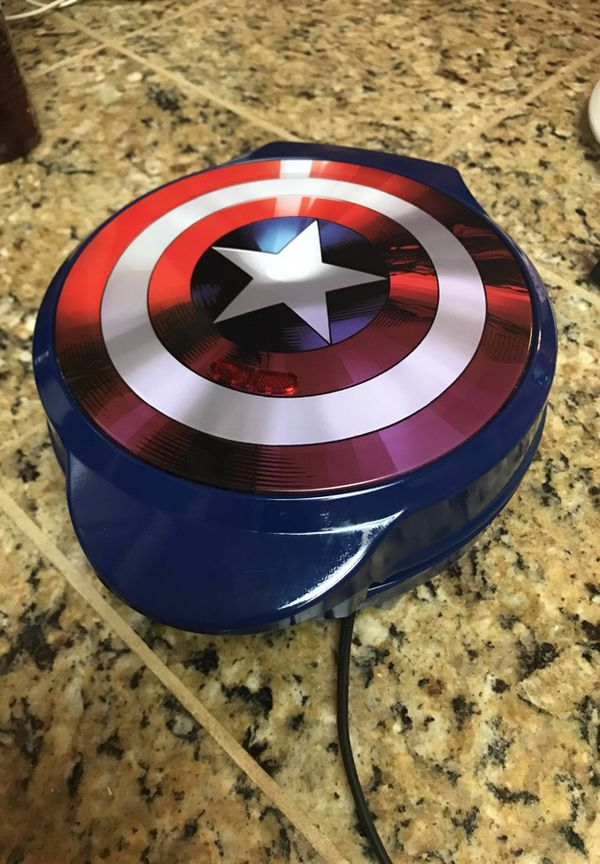 captain america waffle maker household in kerman ca