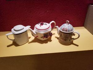 Tea Pots (3)