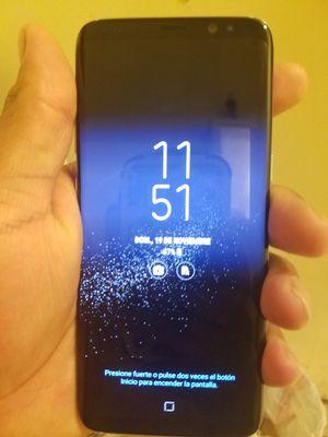 Galaxy s8 Sprint está Reportado pero esta liberado para usalo toca limpiarlo sólo el teléfono not cargador