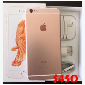 Apple iPhone 6s plus Factory Unlocked - Comes w/ Box + Accessories + 30 days warranty