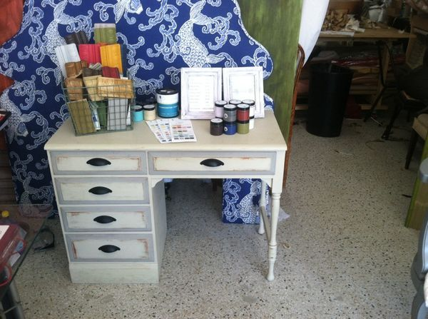 Vintage Real Oak Desk Furniture In Tampa Fl Offerup