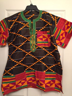 Handmade kente cloth dashiki LARGE