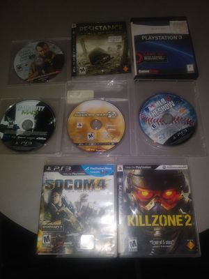 Ps3 games all in case
