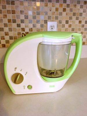 New nuk baby food maker ( cook and blend)