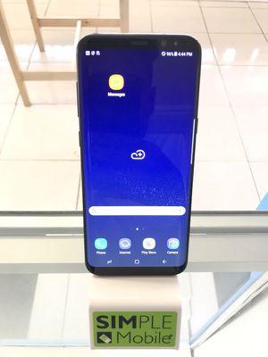 S8 Plus Midnight Black Unlocked