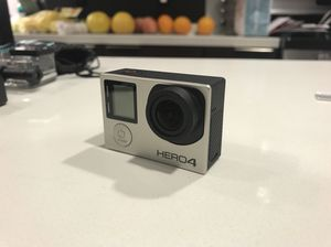 GoPro Hero 4 Silver with extra accessories