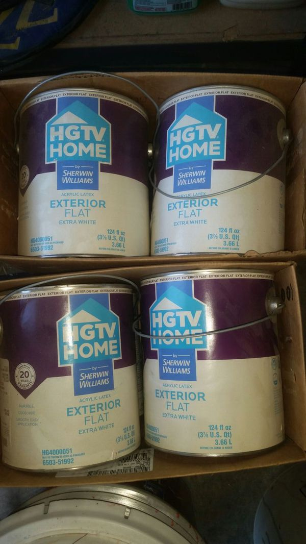 Hgtv Exterior House Paint White Home Garden In Federal Way Wa Offerup