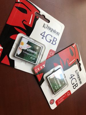 CF Flash carts 4 GB
