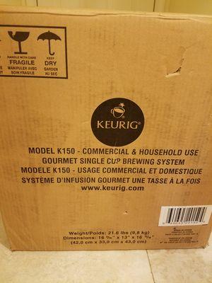 BRAND NEW KEURIG K150 COMMERCIAL &HOUSEHOLD