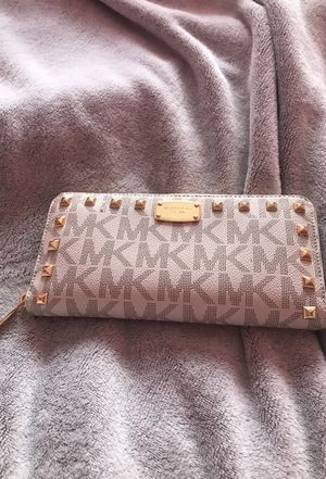 Authentic studded MK wallet