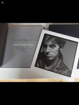 NEW Bruce Springsteen Streets of Fire 1977-79 by Eric Meola, Signed Collector's Edition