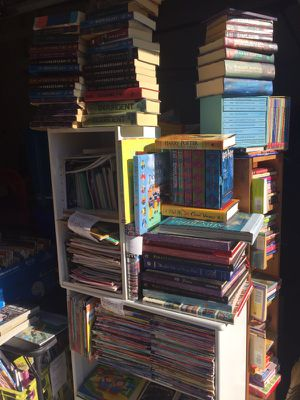 Tons of books!!!