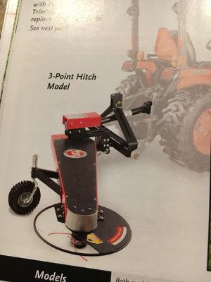 3 point hitch trimmer