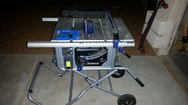 10 kobalt table saw tools machinery in peoria az 10 kobalt table saw greentooth Choice Image
