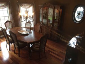 Dining Room Table Server And China Closet