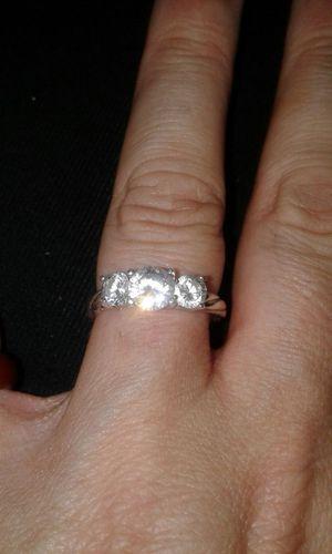 Past present future 1 carat diamond ring
