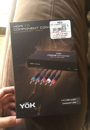 Yok converter hdmi to component