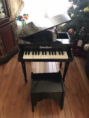 Neiman Marcus Toy Baby Grand Piano