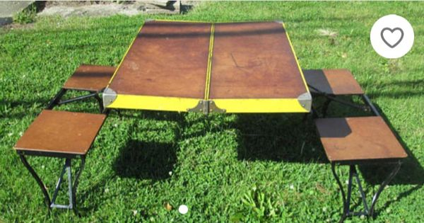 Vintage antique picnic table and chairs antiques in phoenix az vintage antique picnic table and chairs antiques in phoenix az offerup watchthetrailerfo