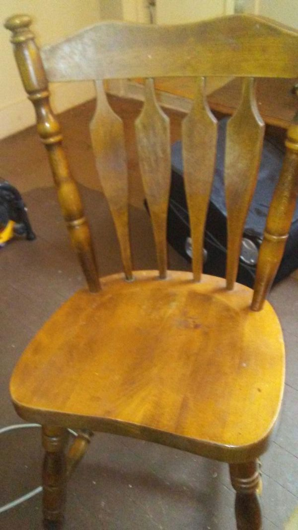 Made from a good strong wood handcrafted solid dining room chairs I ...