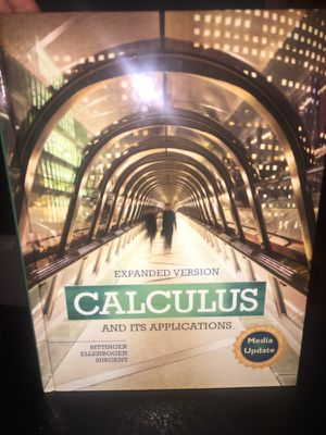 Calculus & Its Applications 11th Edition