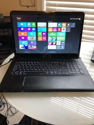"Sony VAIO 17"" lcd Laptop 1TB 16RAM Fully loaded windows"