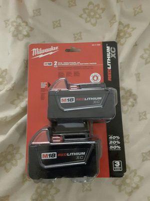 baterias Milwaukee nuevas precio firme