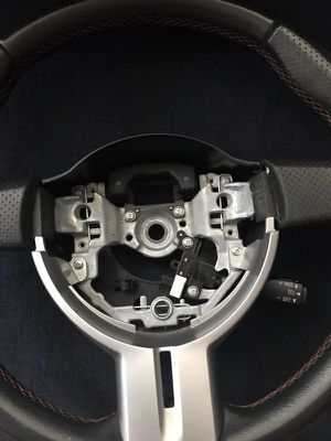 Scion FR-S steering wheel