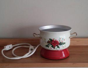 Poinsettia Electric Potpourri Warmer