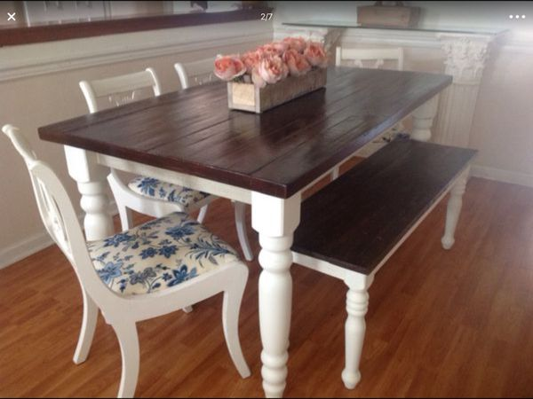 Dining Table Farmhouse Furniture In Virginia Beach VA