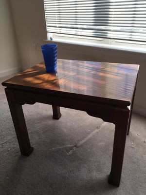2 and a half foot end table