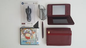 DSi XL Maroon Color for sale!