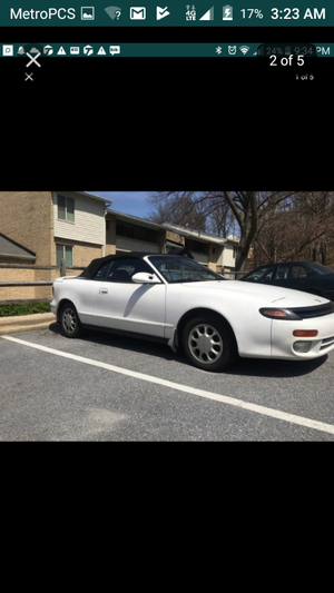93 celica convertible gt willing to do a trade 185k