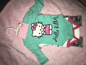 Hello Kitty 2 Pack Bodysuit & Pants (3-6 Months)