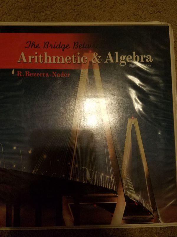 The bridge between Arithmetic & Algebra 8th Edition (Books ...