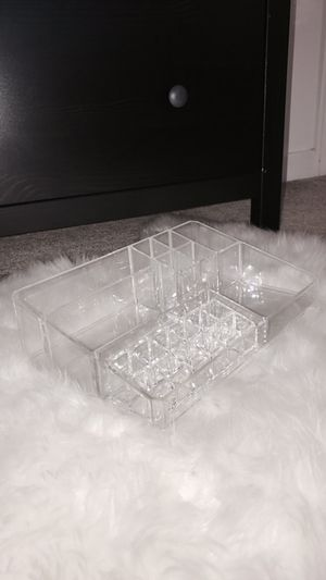Makeup Cosmetic Organizer (Clear)