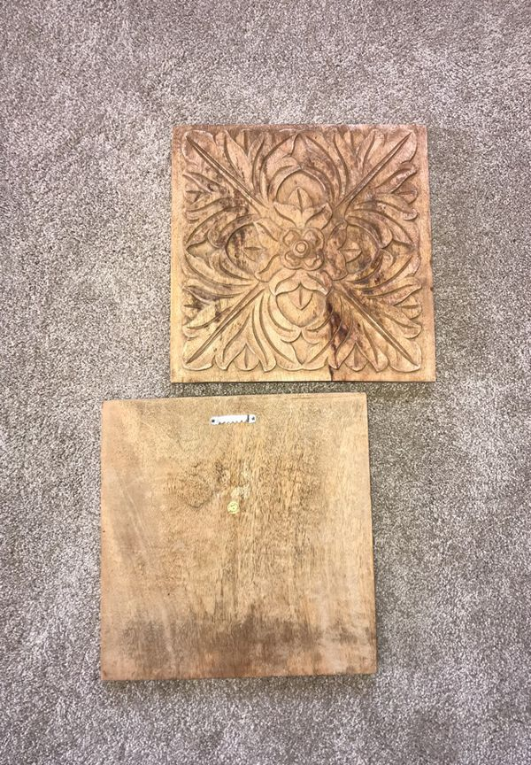 Fancy Carved Wood Wall Decor Festooning - All About Wallart ...
