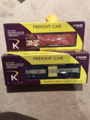S gauge freight cars new